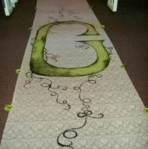 Creative Touches Evansville Floral Arrangement Wedding Flower Custom ProjectsKady-runner-2