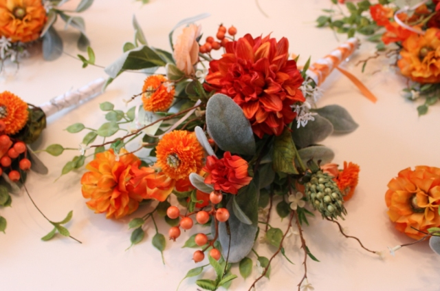 Kutzler bouquets, bridesmaid (1 of 1)